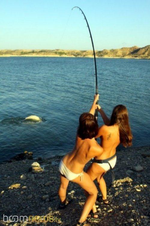 Голая рыбалка фото